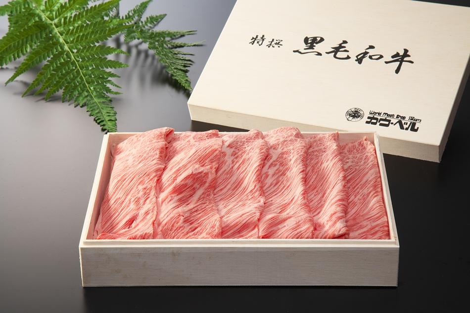 長崎和牛肩ロースすき焼き